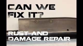 Repairing Rust and Damage to Firearms with Durafil, Remington 870 TC restoration