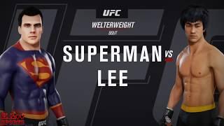 Superman Vs Bruce Lee -  EA SPORTS TV