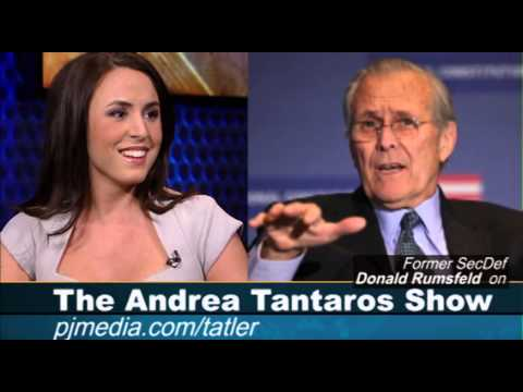 Former SecDef Donald Rumsfeld discusses Benghazi on the Andrea Tantaros Show