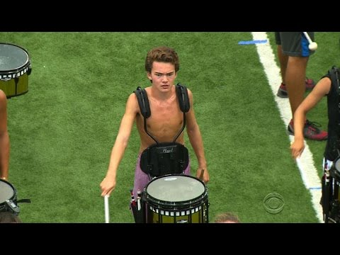 Teen Drummer Lives His Dream One Beat At A Time video
