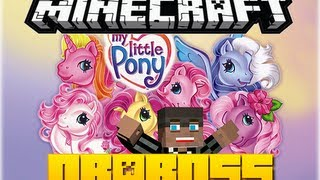Minecraft 1.6.2: My little Pony  (mods ,  skins)  - QbaBoss