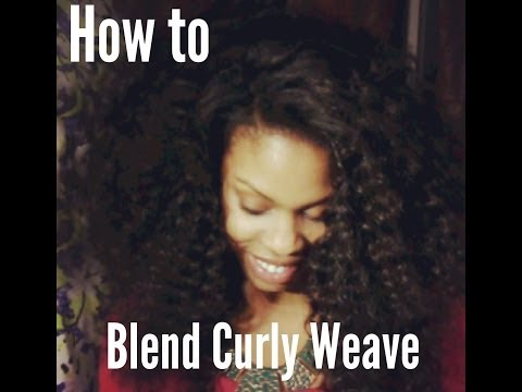 How to Blend Natural Hair with Curly Weave using Lux Hair Extensions