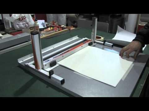 MRP-50 Máquina de encuadernación de álbumes digitales, atril de montaje .