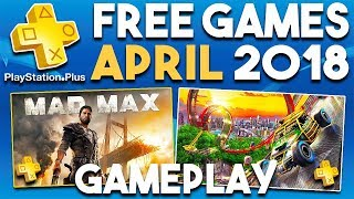 PlayStation Plus FREE Games APRIL 2018 Gameplay Montage (PS Plus Games 2018)