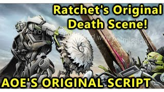 Ratchet's Original Death Scene In Age Of Extinction(EXPLAINED) - Transformers Bumblebee(2018)