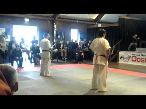 Open Karate Kyokushin IBK 2012 Spain vs Russia Semi Final Image 1