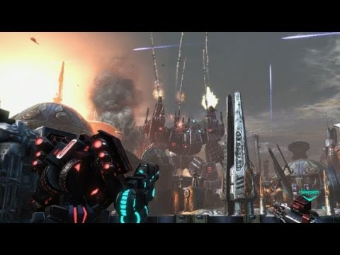 Prime and Plex Blasting - Transformers: Fall of Cybertron