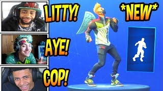 "STREAMERS REACT TO *NEW* ""TWIST"" EMOTE/DANCE! *RARE* Fortnite FUNNY & SAVAGE Moments"