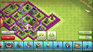 Clash of Clans - Best Town Hall 7 Defense ( En iyi Defans )