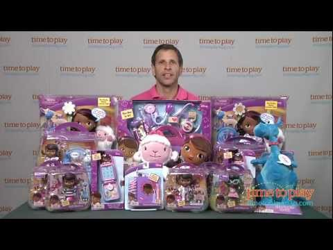 Win Doc McStuffins toys on #TimetoPlayLive