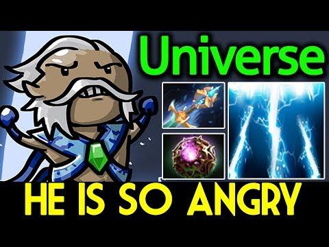 Universe Dota 2 [Zeus] He's So Angry | Offlane - 17 Kills