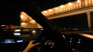 Nissan GT-R mk1 vs Lancer Evo9 MR (broken pipe)