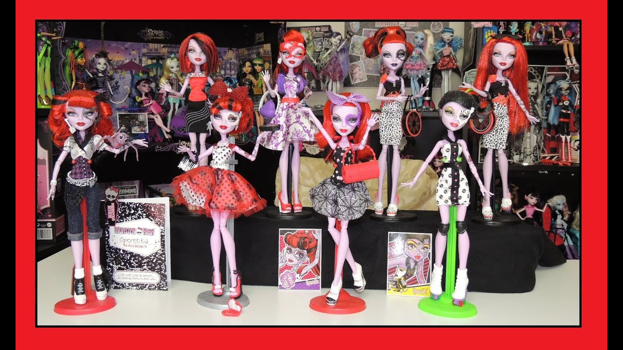 Collection Dolls Monster High Monster High Operetta Doll