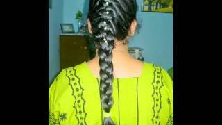 Hair Style Sagar choti for wedding especially long hair...My Slideshow
