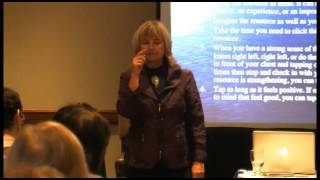 """Resource Tapping for Trauma"" Seminar with Laurel Parnell, Ph.D."
