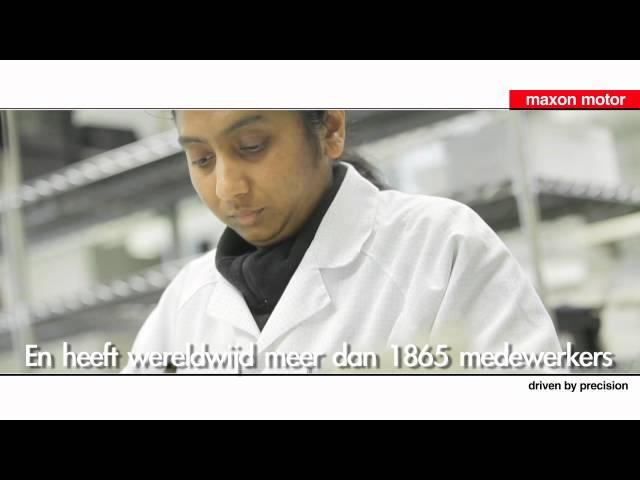 Videomarketing Maxon motor   Wereldwijd