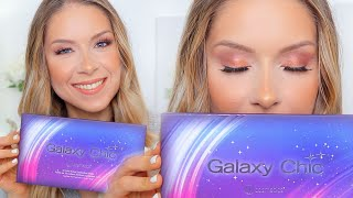 BH Cosmetics GALAXY CHIC PALETTE (Demo + Swatches)