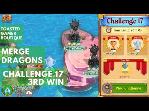 Challenge 17 Merge Dragons 3rd Win Get Skeleton Dragon Kid - Dragon Power 12 !