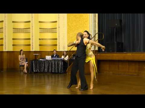 2015 Australian Bachata Championship - Pro/Am Freestyle - Shehan and Ellicia