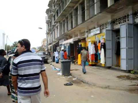 THE GAMBIA BANJUL MAIN STREET