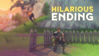HILARIOUS ENDING! (Fortnite Battle Royale)