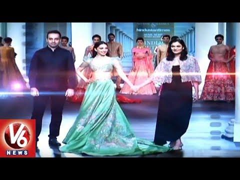 Bollywood Actress Kiara Advani Sizzle at India Couture 2018 In Delhi   V6 News