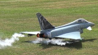 Eurofighter Typhoon RC Model Jet the world's most advanced fighter Aircraft