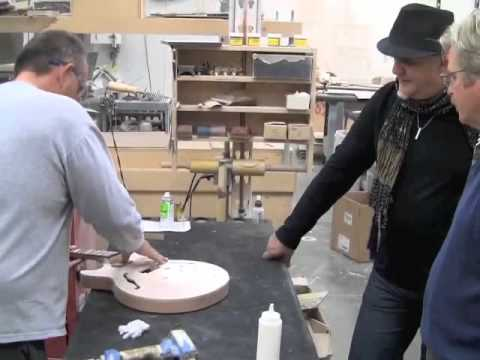 Guitar Solo Artist Frank Gambale and the Carvin FG1 Factory Tour.mov