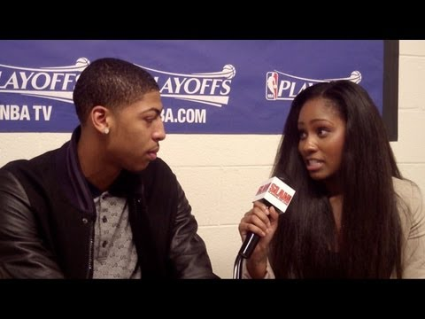 Anthony Davis Interview - Pelicans Forward Talks Rookie Season