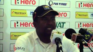 1st Test, Day Three - Rangana Herath l: Windies tour of Sri Lanka 2015