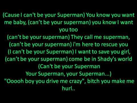 Eminem- Superman (Lyrics)