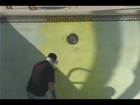 How To Paint & Acid Wash A Swimming Pool - Part 1 -Acid Wash ...