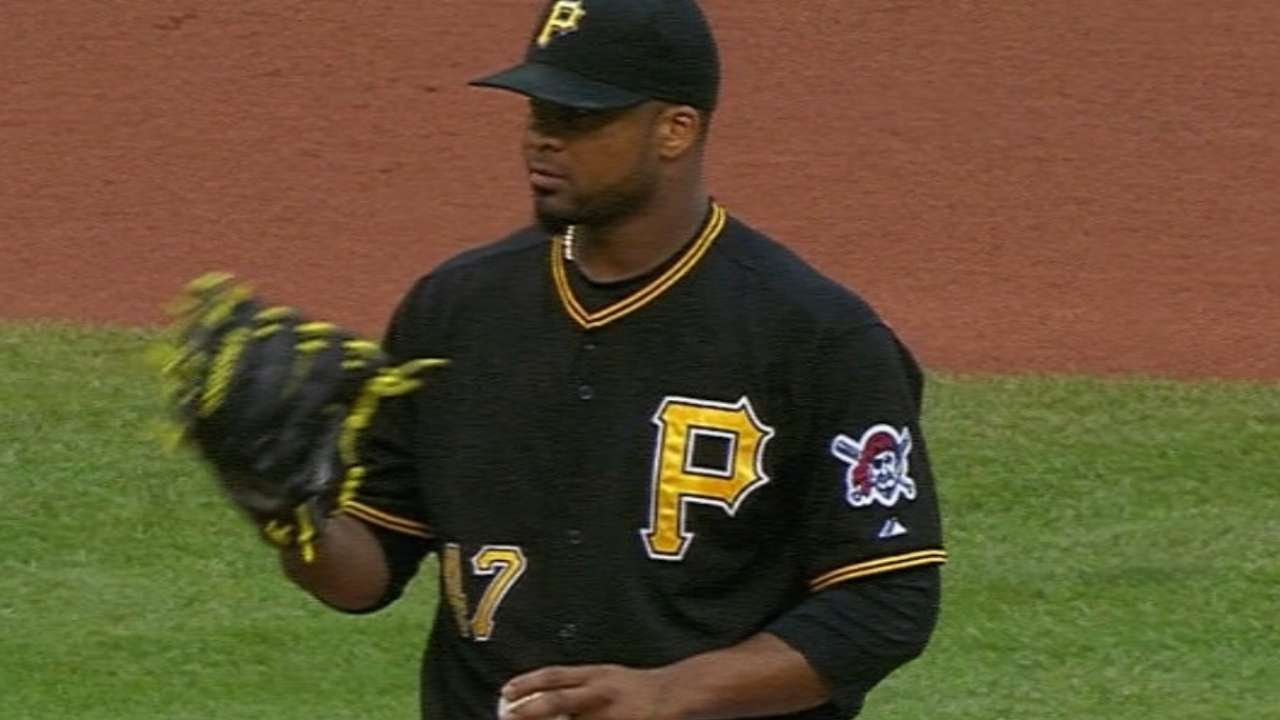 SD@PIT: Liriano fans six over six strong innings