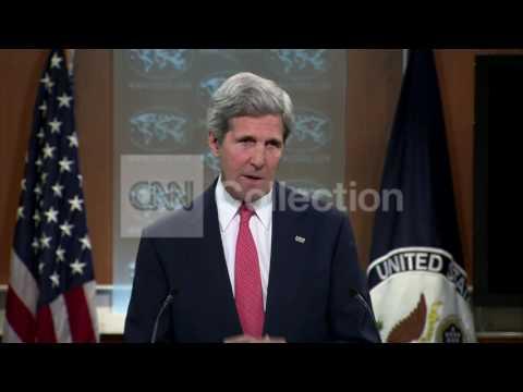 KERRY UKRAINE:GENEVA AGREEMENT 'NOT OPTIONAL'
