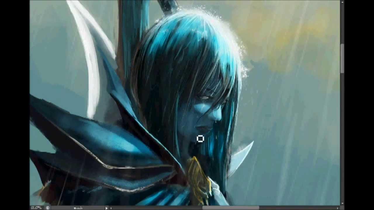 Dota 2 Phantom Assassin Speed Painting YouTube
