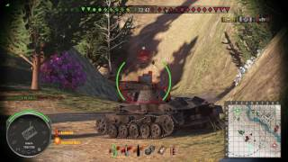 World of Tanks PS4 - Oluja1973 - O-I Experimentell on Hidden Village - 9 Kills