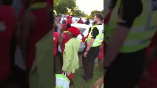 Chamisa Escorted by U.K Police