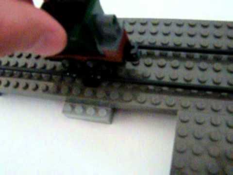 lego eisenbahnschiene selbst bauen youtube. Black Bedroom Furniture Sets. Home Design Ideas