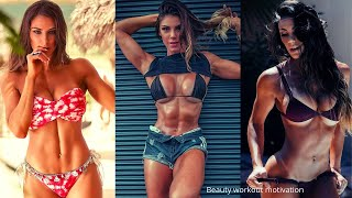 Fitness model Carol Saraiva workout motivation | gym workout | bikini workout | workout motivation |