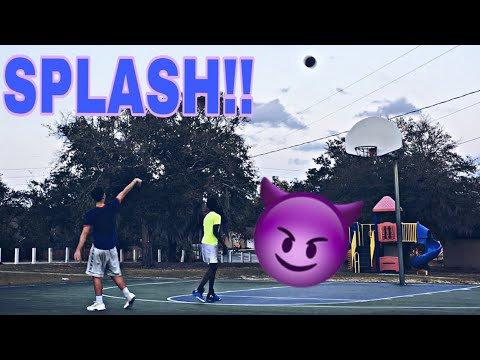 1v1 Basketball - Vs. A Hooper - (Shooting Like Stephen Curry) (SICK MOVES) (part 2)
