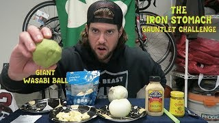 The Iron Stomach Gauntlet Challenge Doesn't Go As Planned | L.A. BEAST