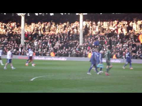 Fulham 1-3 Chelsea - Chelsea Fans At Full Time/André Schürrle (HD)