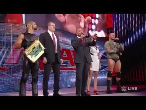 John Cena And Dean Ambrose Get Some Night Of Champions Payback: Raw, Sept. 22, 2014 video