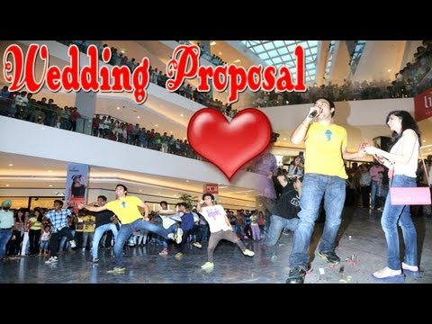 Amazing Flash Mob Wedding Proposal Elante Mall, Chandigarh, India video