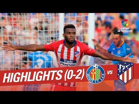 Resumen de Getafe CF vs Atlético de Madrid (0-2)