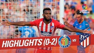 Highlights Getafe CF vs Atletico Madrid (0-2)