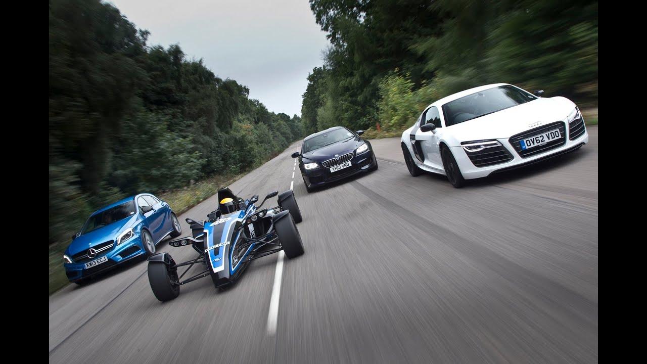 Road Legal 1 0 Litre Formula Ford Ecoboost Vs Audi R8 Bmw