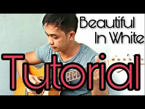 (TABS+TUTORIAL) Beautiful In White - Guitar Fingerstyle  PART 1