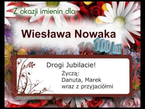 Piosenka Z Imieniem Wiesław Na Prezent, Imieniny