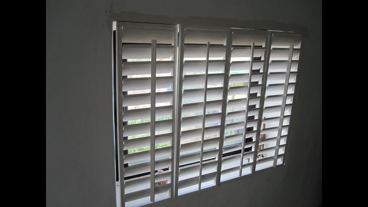 Plantation shutters homemade plantation shutters youtube - Plantation shutters kits ...